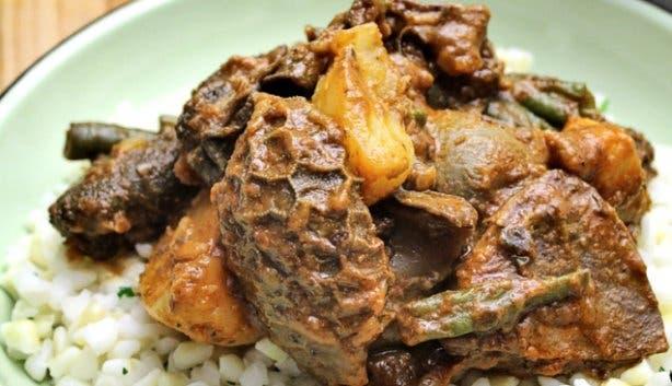 Ulusu südafrikanisches Essen Innereien