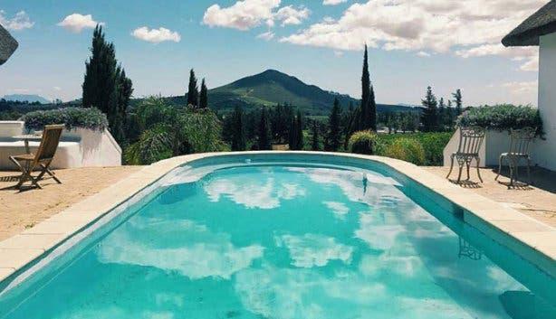 marianne wine estate swimming pool