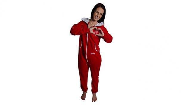 aFREAKa Clothing Adult Red INYE Onesie