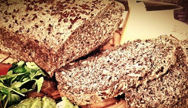 Low carb seed bread from Rcaffe