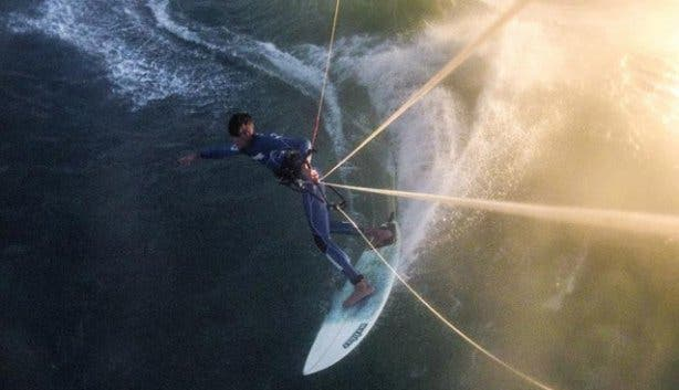 Kitesurfing with High Five lessons