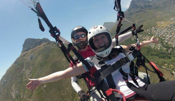 Paragliding with Para Taxi