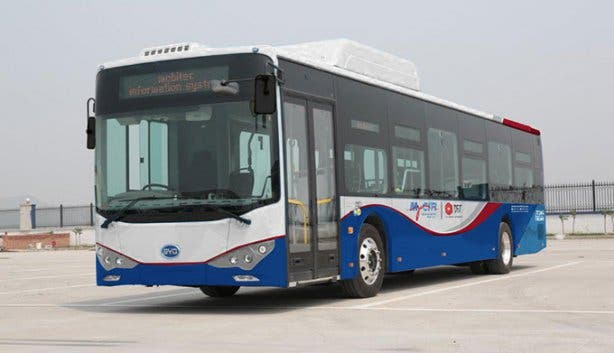 MyCiti Electric Bus