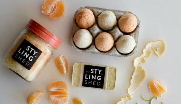 The Styling Shed's Bath Delights workshop 2017