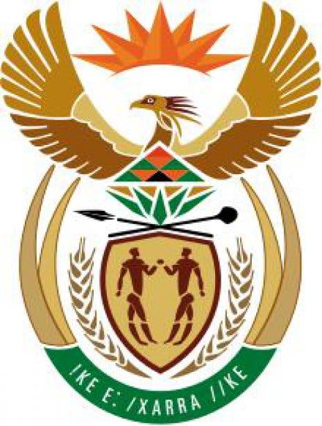Wappen Südafrika, coat of arms south africa