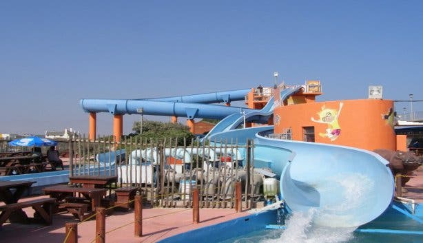Muizenberg waterslides