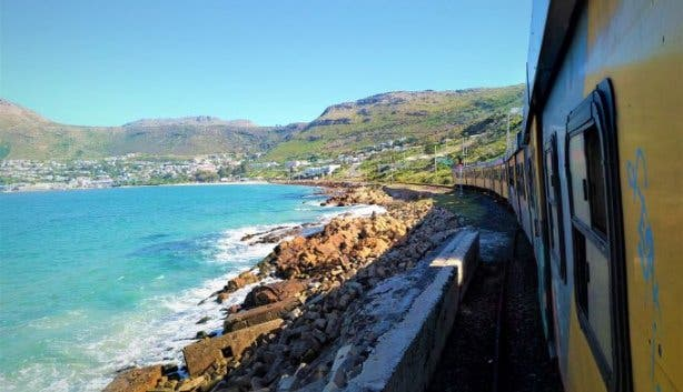 southern railway train simons town