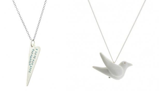 Locally designed necklaces from KIn