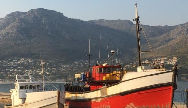 Hout Bay Boat Yard Harbour
