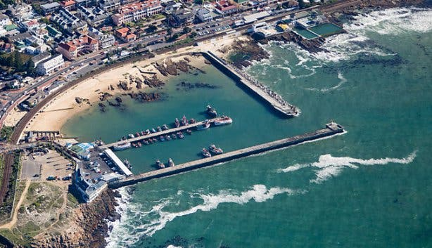 NAC Helicopter Tour Kalk Bay View