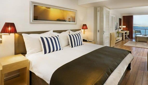 Two bedroom sea facing suite at Radisson Blu