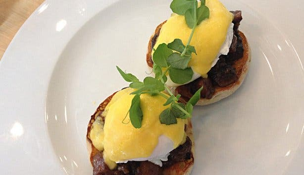 Borage Restaurant Eggs Benedict