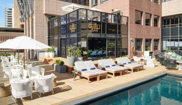 Ghibli Pool Bar Radisson Blu