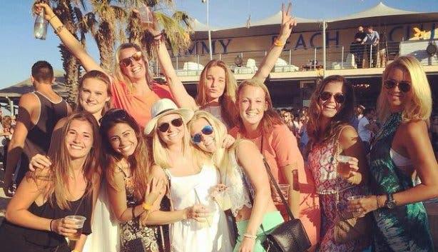 goldfish shimmy beach club