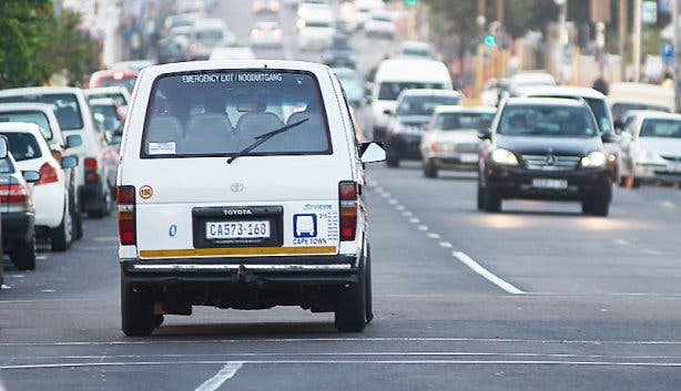 Minibus Taxi Seapoint