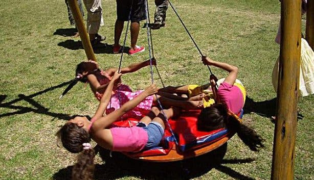Planet Kids swings