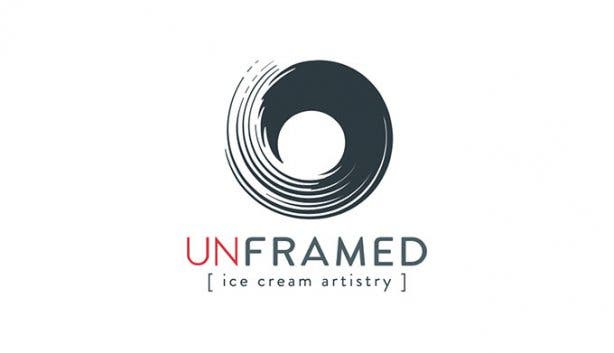 Unframed Ice Cream Logo 3
