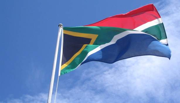 south africa flag mast