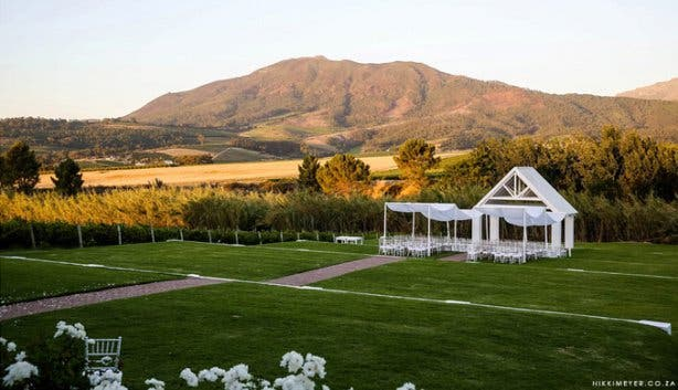 Top wine estate wedding venue Kleinevalleij