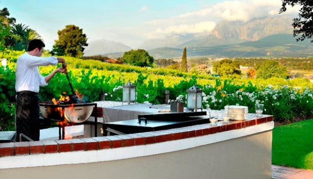 Bubbles and Braai at Grande Roche