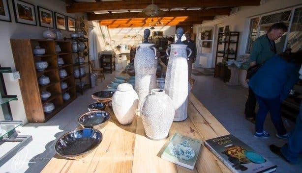 Garth Meyer pottery Solo Studios Art Festival Riebeek