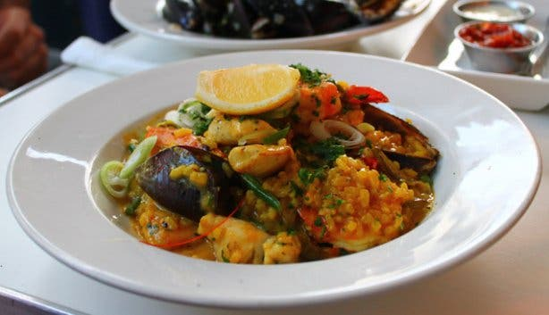 Paella Thursdays at Lola's on Long