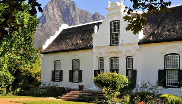 Boschendal Wine Farm Franschhoek Manor House