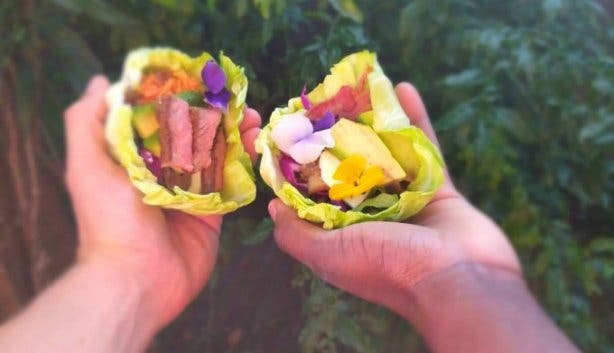 Cabbage Is The Hero Of This Carb, Gluten and Plastic-Free Catering Company