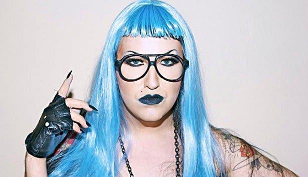 Mary Scary blue hair