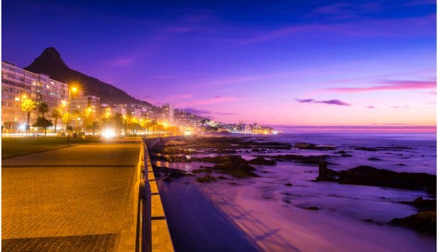 La Mer Restaurant at Radisson Blue La Vendome in Sea Point
