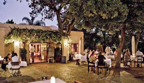 Restaurants at wine estates in Stellenbosch