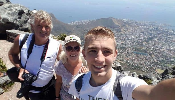 Tafelberg Table Mountain selfie shirley van dessel