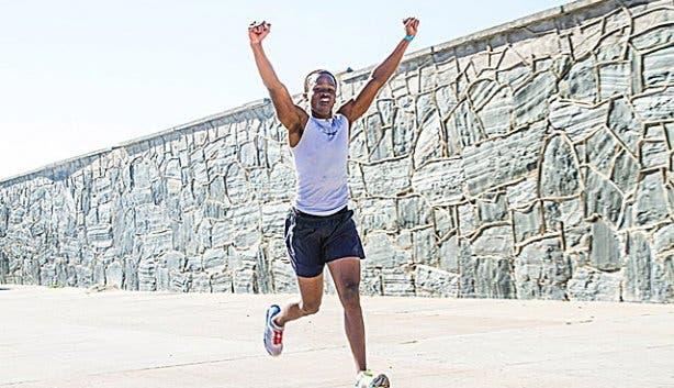 TriRock-Robben Island Triathlon Hloni Bookhalane