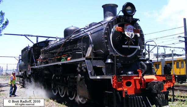 Atlantic Rail Steam Train