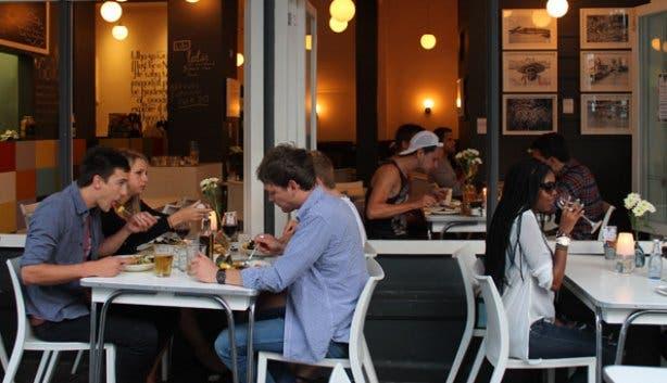 Dinner at Lola's on Long Street
