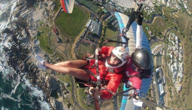 Tandem Paragliding Cape Town Views