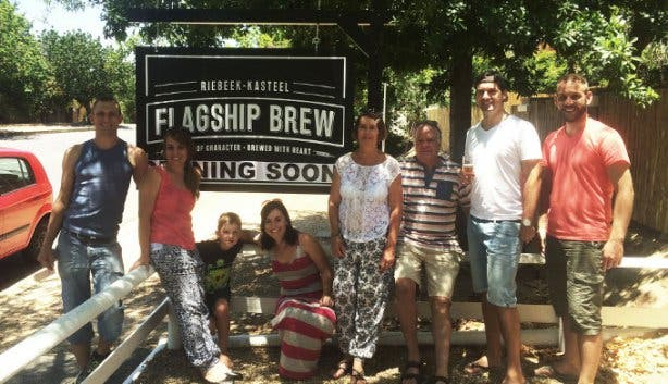 Flagship Brew Brewery in Riebeek Kasteel Cape Town