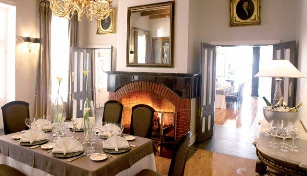 Private dining at Bosman's Restaurant at Grande Roche