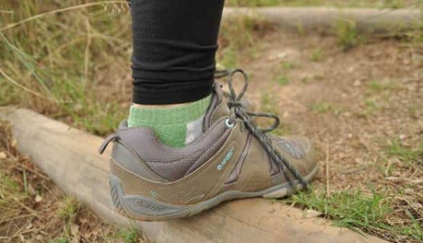 Hi-Tec hiking shoes  on a walk in the Western Cape