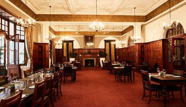 Cape Town Club Dining Room