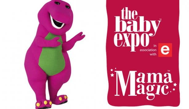 the baby expo barney