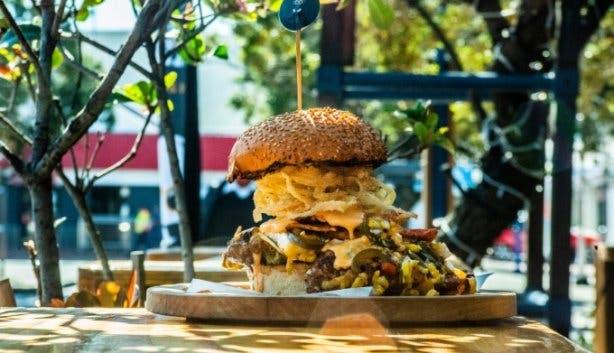 Chard Grill & Wine Bar burger