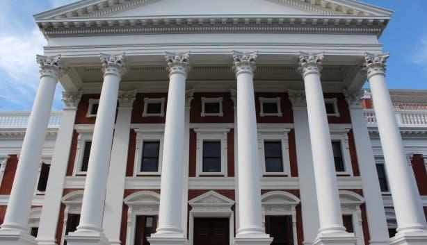 Parlament Kapstadt Parliament Cape Town Foto: Elisabeth Thobe