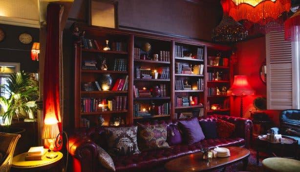 Kloof Street House Bookshelf