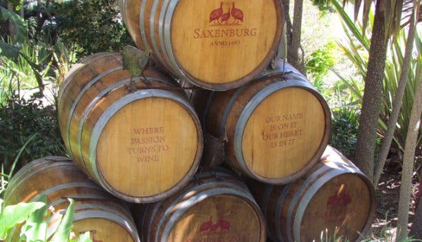 Saxenburg Wine Farm Barrels