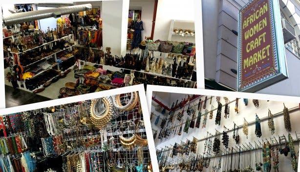 African Woman Craft Market