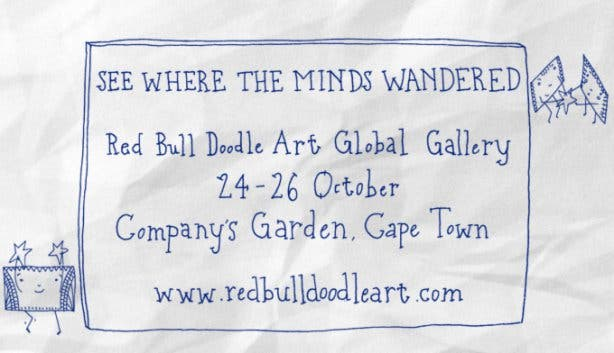 Red Bull Doodle Art Cape Town Global Gallery