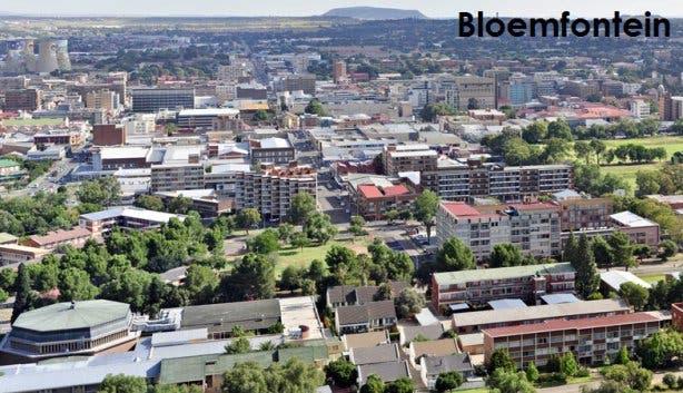 Bloemfontein hoofdstad Zuid-Afrika