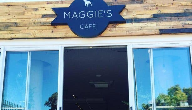 Maggie's Cafe Sign