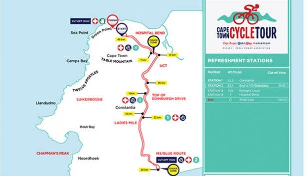 New Route for 2015 Cape Argus
